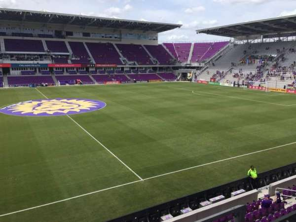 Orlando City Stadium, section: 135, row: B, seat: 3