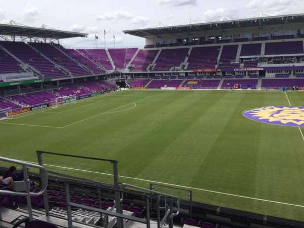Exploria Stadium, section: 135, row: H, seat: 23