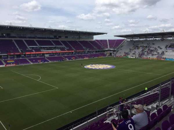 Exploria Stadium, section: 138, row: H, seat: 14