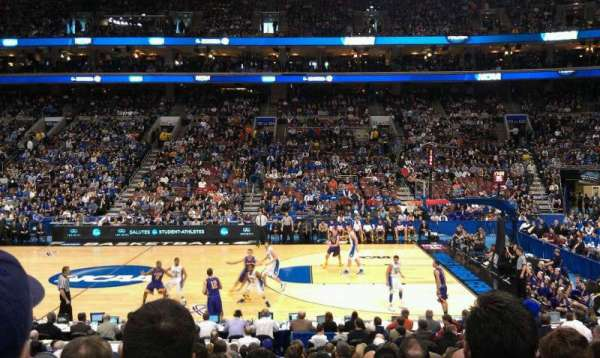Wells Fargo Center, section: 114, row: 15, seat: 7