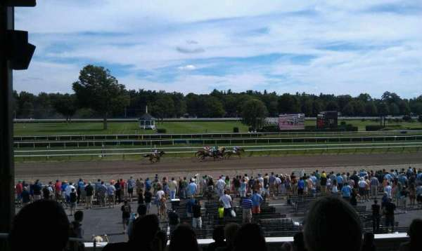 Saratoga Race Course, section: X, row: P, seat: 17