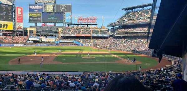 Citi Field, section: 121, row: 31, seat: 3