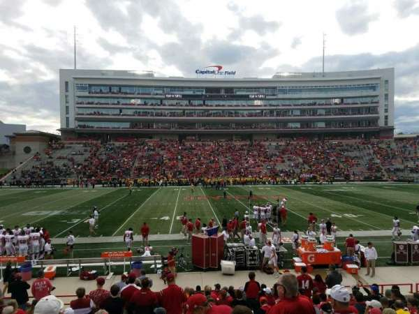 Maryland Stadium, section: 5, row: T, seat: 7