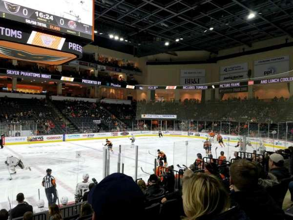 PPL Center, section: 105, row: 9, seat: 9