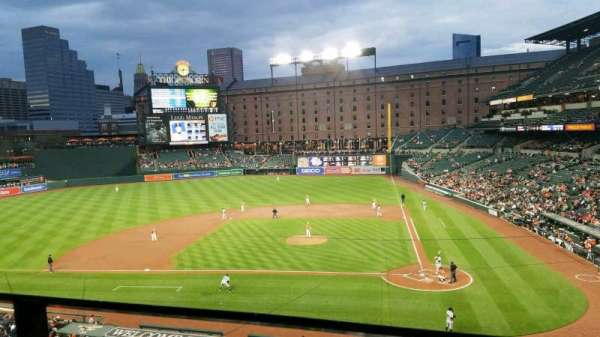 Oriole Park at Camden Yards, section: 244, row: 1, seat: 11