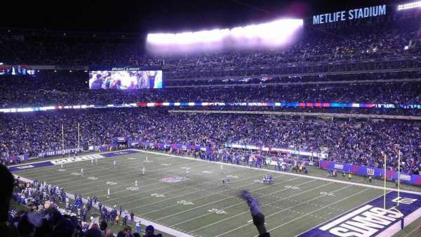 MetLife Stadium, section: 232a, row: 15, seat: 11