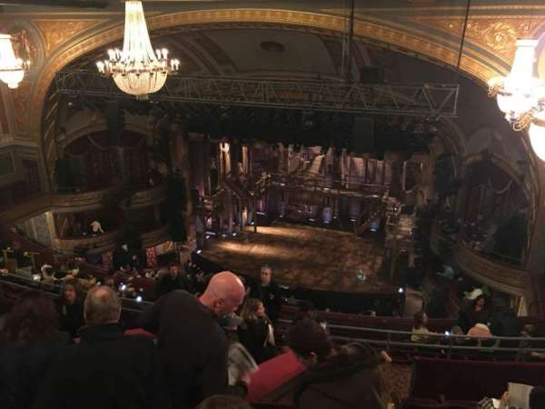 Richard Rodgers Theatre, section: Rear Mezzanine R, row: G, seat: 12