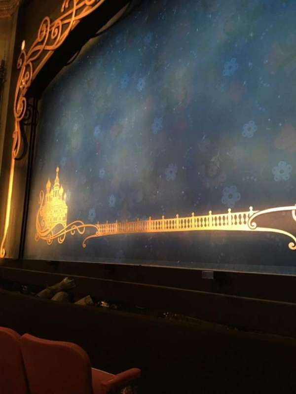 Broadhurst Theatre, section: Orchestra Right, row: C, seat: 2