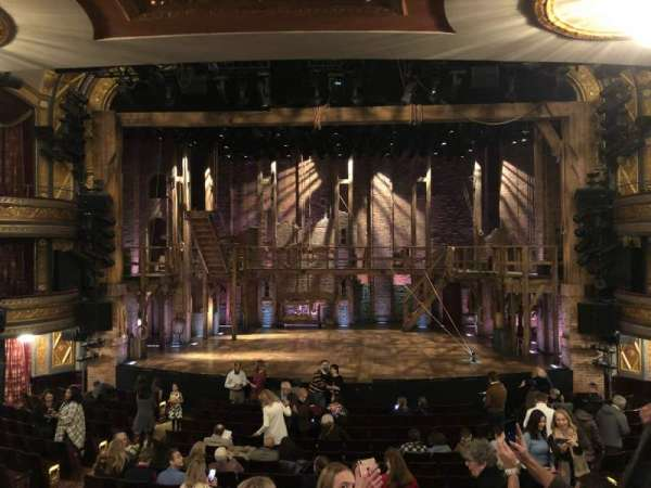 Richard Rodgers Theatre, section: Orchestra C, row: Q, seat: 106