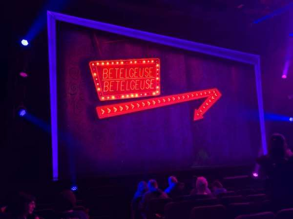 Winter Garden Theatre, section: Orchestra L, row: H, seat: 1