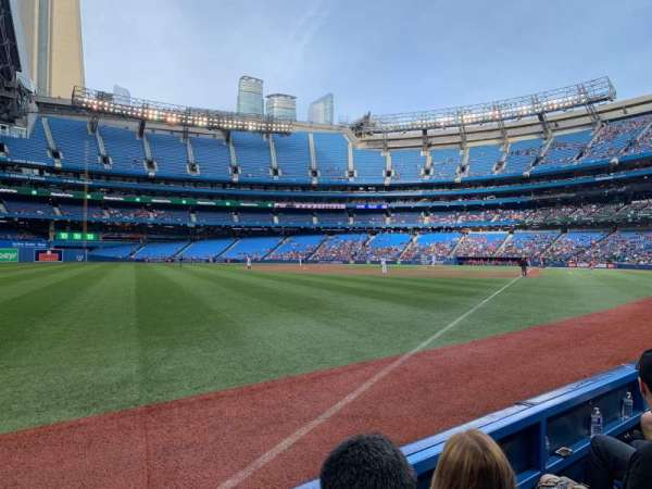 Rogers Centre, section: 130DR, row: 2, seat: 3