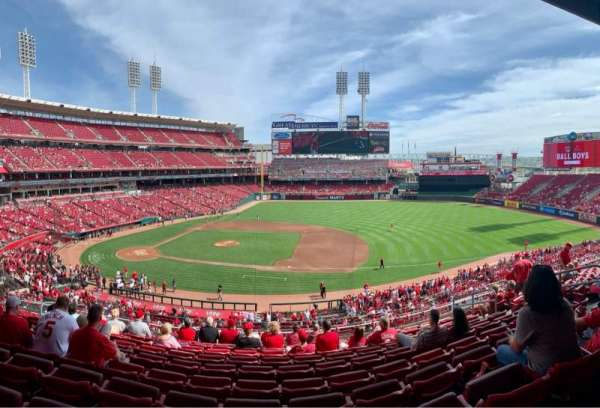 Great American Ball Park, section: 303, row: J , seat: 10