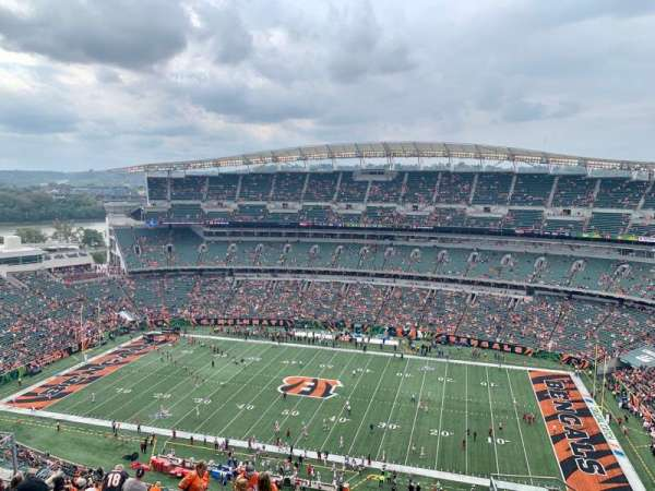 Paul Brown Stadium, section: 338, row: 24, seat: 5