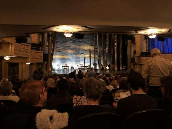 Gerald Schoenfeld Theatre, section: Orchestra C, row: R, seat: 17