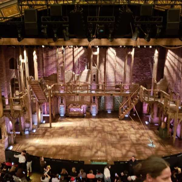 Richard Rodgers Theatre, section: Front Mezzanine C, row: C, seat: 109