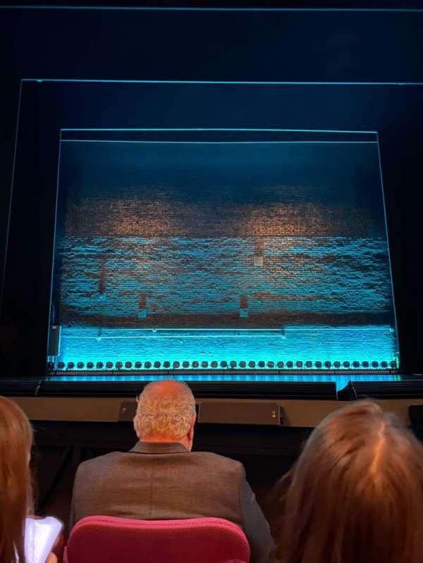Broadhurst Theatre, section: Orchestra C, row: C, seat: 106