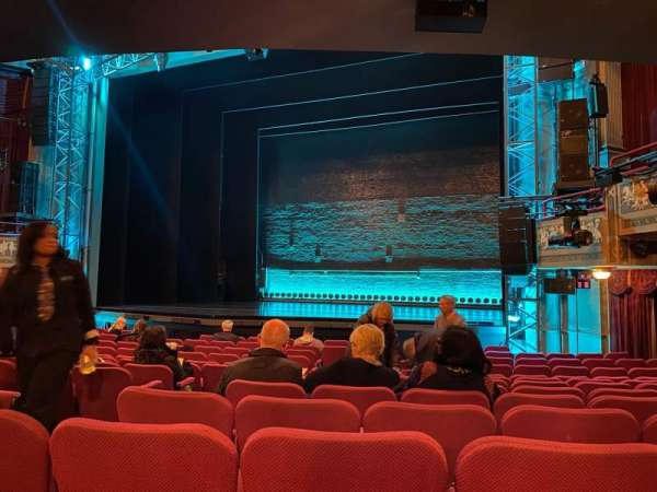 Broadhurst Theatre, section: Orchestra R, row: N, seat: 8
