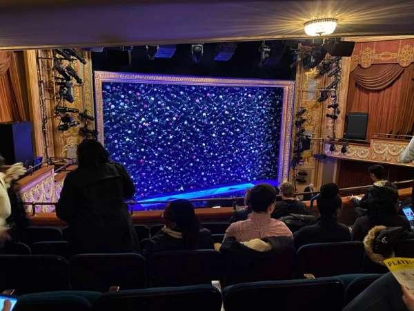 Longacre Theatre, section: Mezzanine L, row: J, seat: 14