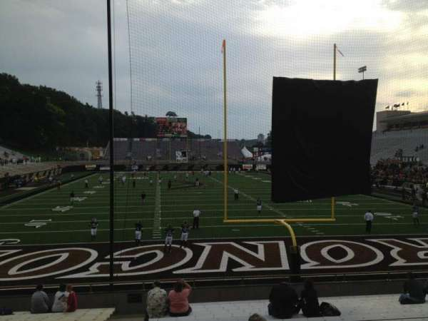 Waldo Stadium, section: X, row: 10, seat: 3