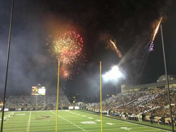 Waldo Stadium, section: X, row: 11, seat: 5