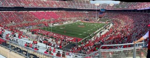 Ohio Stadium, section: 34B, row: 6, seat: 1