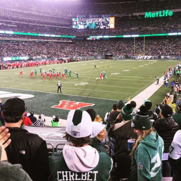 MetLife Stadium, section: 123, row: 15, seat: 4