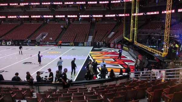 Honda Center, section: 219, row: L, seat: 8