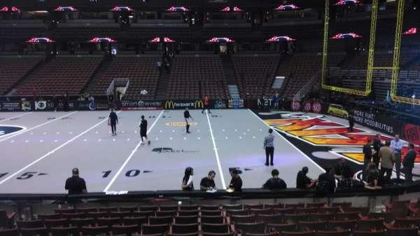 Honda Center, section: 220, row: L, seat: 8