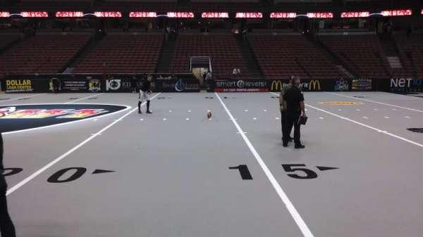 Honda Center, section: 221, row: A, seat: 8