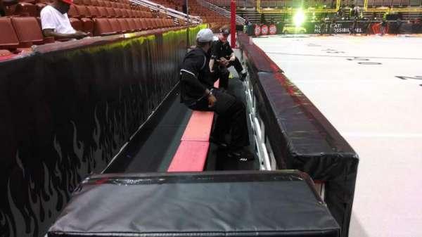 Honda Center, section: 207, row: A, seat: 8