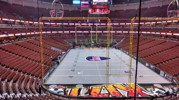 Honda Center, section: 301, row: C, seat: 8