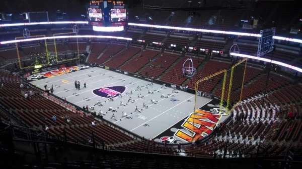 Honda Center, section: 406, row: N, seat: 8