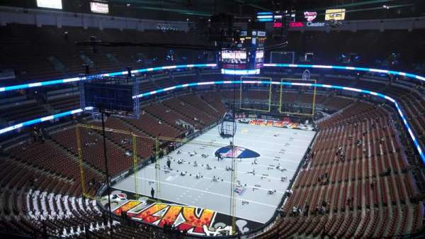 Honda Center, section: 442, row: N, seat: 8