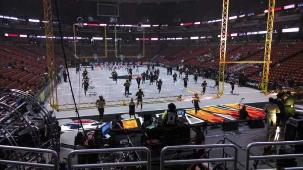 Honda Center, section: 216, row: P, seat: 8