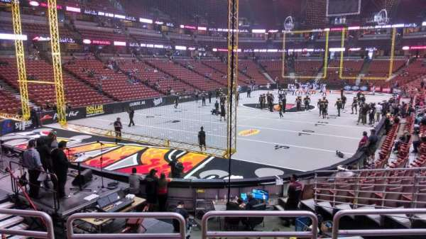 Honda Center, section: 213, row: P, seat: 8