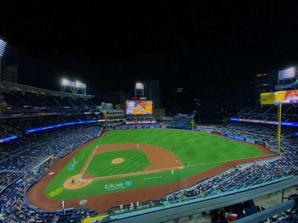 PETCO Park, section: 309, row: 4, seat: 10