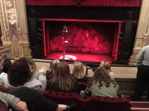 Nederlander Theatre (Chicago), section: LOGE-C, row: D, seat: 310