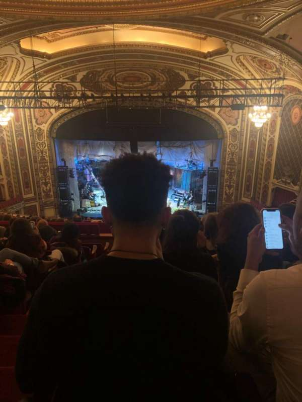 Cadillac Palace Theater, section: Balcony RC, row: S, seat: 321