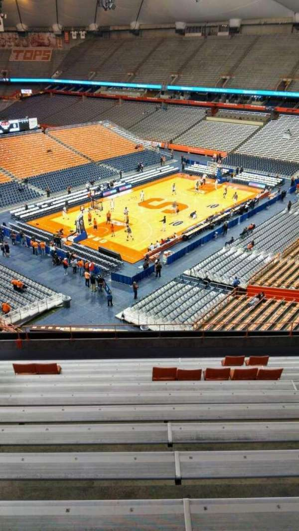 Carrier Dome, section: 315, row: M, seat: 115