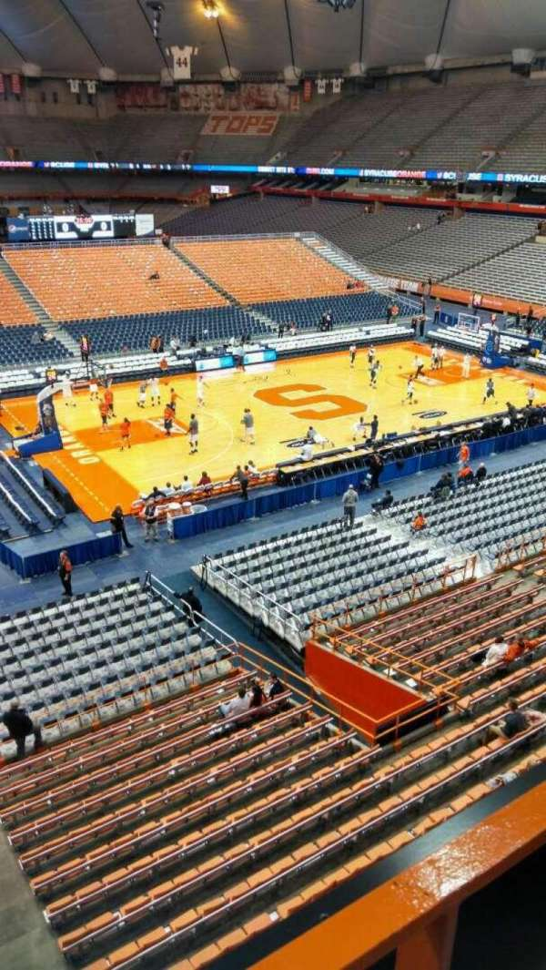 Carrier Dome, section: 312, row: A, seat: 111