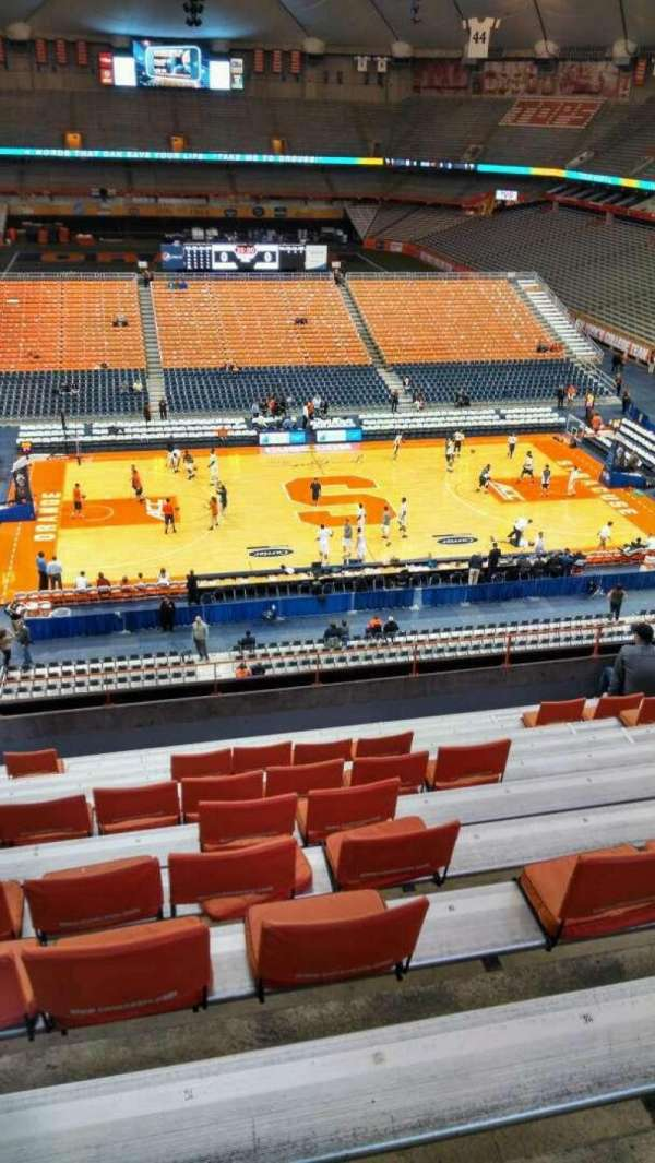 Carrier Dome, section: 311, row: L, seat: 112