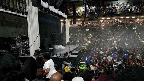 Royal Farms Arena, section: 105, row: J, seat: 9