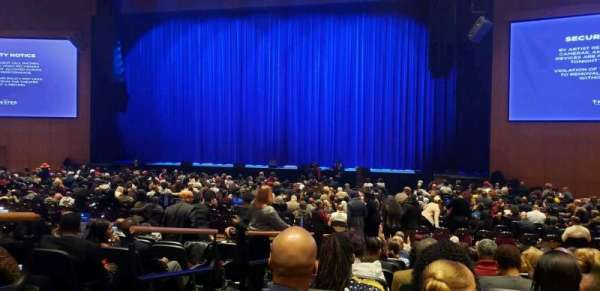 The Theater at MGM National Harbor, section: 102, row: K, seat: 12
