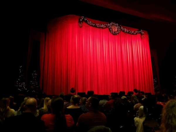 The Theater at MGM National Harbor, section: 3, row: K, seat: 4