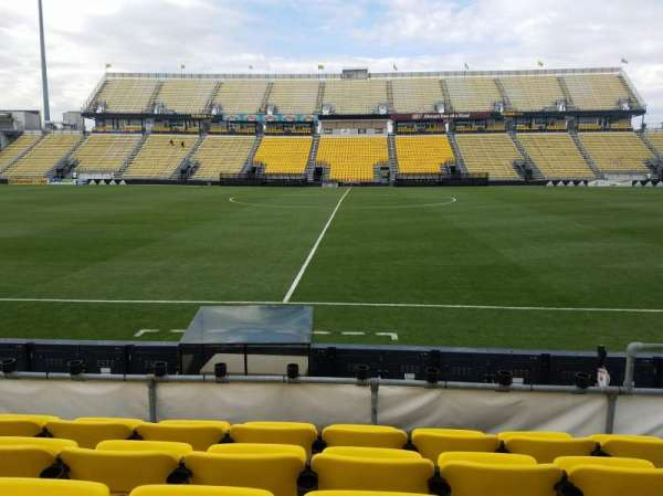 Mapfre Stadium, section: 106, row: 5, seat: 9