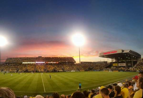 Mapfre Stadium, section: 106, row: 11, seat: 13