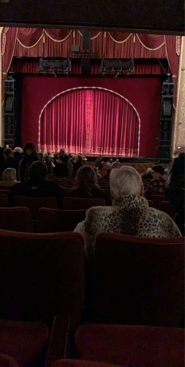 Orpheum Theatre (Memphis), section: Orchestra RC, row: CC, seat: 107