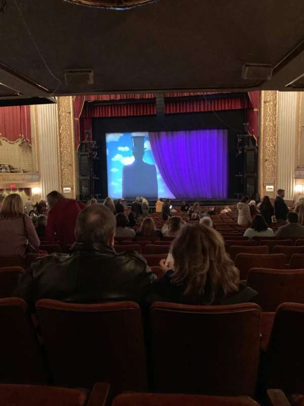 Orpheum Theatre (Memphis), section: Orchestra RC, row: DD, seat: 104