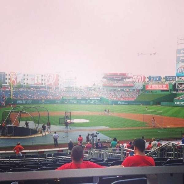 Nationals Park, section: 126, row: K, seat: 13