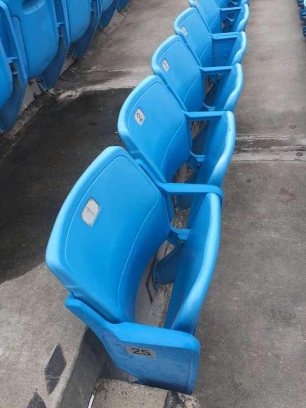 Bank of America Stadium, section: 544, row: 25, seat: 1, 2, 3, 4